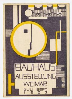 Rudolph Baschant, Bauhaus Exhibition, 1923