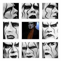 Faces of Sting Sting Wcw, Jeff Hardy, Wwe Wrestlers, Professional Wrestling, Wwe Superstars, Nebraska, Faces, Undertaker, Scorpion