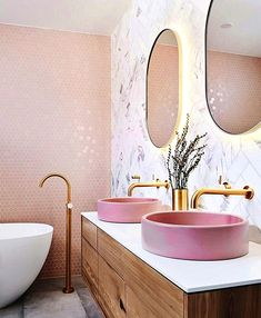 Adorning Inspiration Essentially the most stunning ornamental concepts of the second are by toilet design inspiration, pink toilet mild, pink basin, vainness designs. Bathroom Red, Modern Bathroom Decor, Bathroom Wallpaper, Bathroom Styling, Bathroom Interior Design, Small Bathroom, Bathroom Designs, Bathroom Ideas, Shower Bathroom