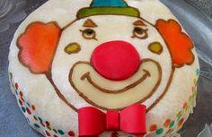 Gâteau Tutti Frutti , Tête de Clown
