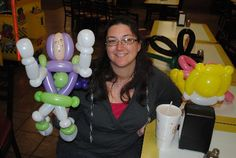 Balloon Twister for hire in kissimmee fl - buz lightyear by Amusement with a Twist