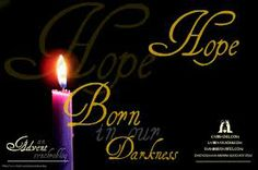 Unswerving Hope by Ann Mwafulirwa   Each week during the season of Advent  our blogs will focus on a central theme associated with the coming of Christ—His Advent.  This week's theme is HOPE. Christians throughout the world celebrate Advent. Some light candles or sing songs; some give gifts or  hang wreaths.  All of these are simple joyous ways of extending the celebration of Jesus's coming beyond a mere 24 hours on December 25.