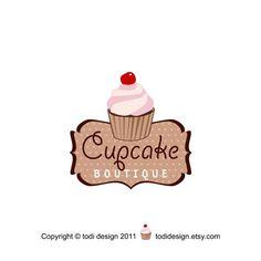 Premade+Logo+designCupcake+Boutique+by+todidesign+on+Etsy,+$20.00
