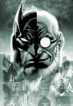 View an image titled 'Batman & Hugo Comic Cover Art' in our Batman: Arkham City art gallery featuring official character designs, concept art, and promo pictures. Dc Comics, Batman Comics, Bob Kane, Batman Arkham City, Gotham City, Catwoman, Comic Books Art, Comic Art, Hugo Strange