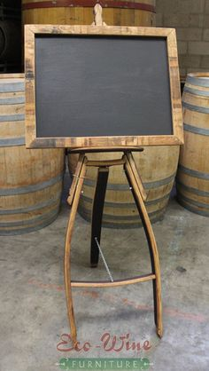 Wine Barrels Hand Crafted Furniture from Wine Oak Barrels Wine Barrel Chairs, Whiskey Barrel Furniture, Wine Barrels, Wine Rack Furniture, Barris, Barrel Projects, Cellar, Pallet, Wine Glass