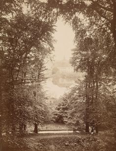 Attributed to August Mencke (1822-62) - Weisden Farm, c.1880