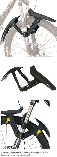 Fenders 72569: Topeak Defender Xc1 Front Shock Fender Mtb Bike Suspension Fork 26, 27.5, 29 BUY IT NOW ONLY: $36.9