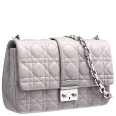 mink grey leather Miss Dior -gorgeous colour