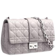 mink grey leather Miss Dior