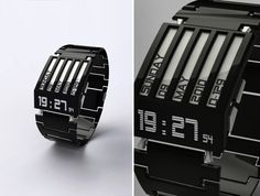 HorodronHD-01 Concept Watch with E-Ink Display | Square Inch Design Blog