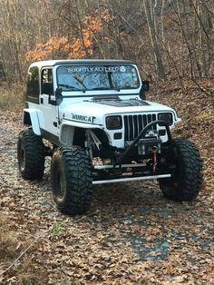 Jeep Cj7, Jeep Wrangler Yj, Jeep Jeep, Jeep Truck, Jeep Stickers, Badass Jeep, Old Jeep, Offroader, Jeep Mods