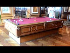 Don't know what I would do with this if I had it, but a pool table that self levels itself would be so cool.