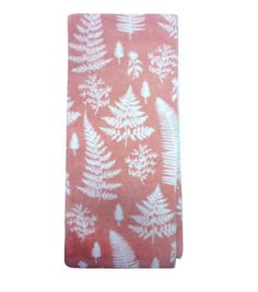 In The Garden Granny Towel-Pink Ferns