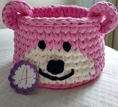 Um domingo muito feliz para todas nós! Ursinha rosa tamanho M, essa vai para o quarto de uma linda!