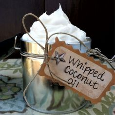 You can whip coconut oil!!! How to Make and Uses for Whipped Coconut Oil - PrimallyInspired.com #coconutoil