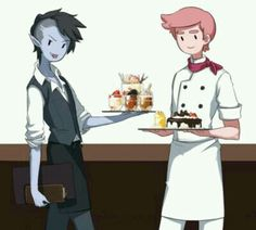 Hora de Aventura | Prince Gumball and Marshall Lee ♡