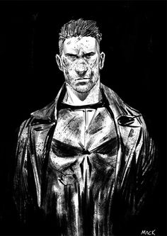 Met Jon Bernthal today at MotorCity Comic Con. I had him sign this awesome Punisher print by macbethoff. Jon really liked the print (said it was 'amazing'). Punisher Daredevil Netflix, Punisher Marvel, Marvel Dc, Marvel Comics, Marvel Defenders, Punisher Skull, Wolverine, Comic Book Characters, Marvel Characters