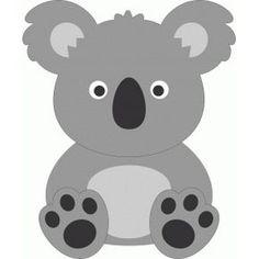 Silhouette Design Store - View Design #53665: cute koala More