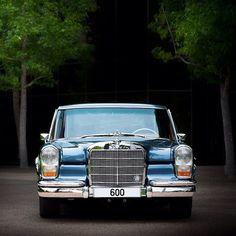 A regal Mercedes 600 Pullman