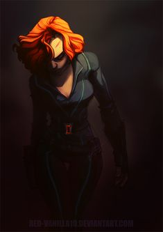 There is sooooo much gorgeous stucky fanart that I am all over, but you better believe when I come across this hot piece of shit I am pinning so fast my fingers fall the fuck off. (Black Widow by Ms Marvel, Marvel Dc Comics, Marvel Heroes, Marvel Avengers, Marvel Girls, Black Widow Scarlett, Black Widow Natasha, Natasha Romanoff, Clint Barton