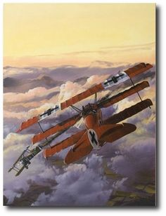 Final Victory by Rich Thistle (Fokker Dr 1 & Sopwith Camel)