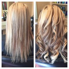 Hot head extensions (Before/After) A great way to add length and thickness.