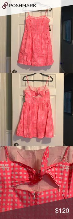bba461d50c9 Lilly Pulitzer Bethany Dress Lilly Pulitzer Bethany Dress in Yummy Melon  (gingham). Size