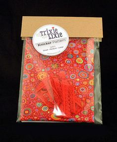 £15 A complete kit for making your own knickers the pattern includes sizes small medium and large and is re-usable