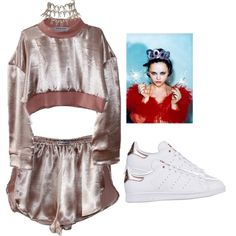 Happy New Year by princess-alexis18 on Polyvore featuring moda, adidas Originals and Christian Dior