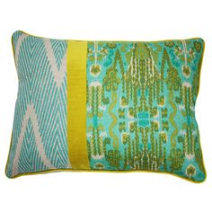 I pinned this Kim Salmela Belize Pillow from the La Vie Boheme event at Joss and Main!- pattern play