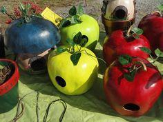 gourd birdhouses | Gourd Birdhouses | Birdhouses