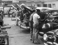 old school mechanics from the 50's