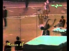 Mexico 1968 high Jump Final (Fosbury 2.24m)