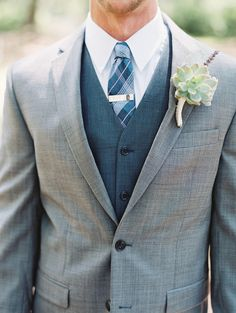 Spring groom fashion - planning, design + florals by Gray Harper Event Maker // Images by The Happy Bloom