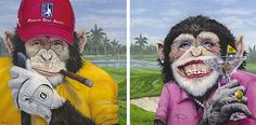 Here's Lance Rodgers' Golf Monkeys - The Mulligans - originals at Salt Rock Grille - owned by Frank Chivas