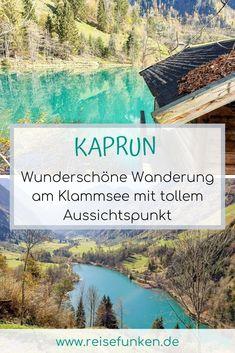 In Kaprun kommen alle Berg- und Naturliebhaber auf ihre Kosten. Denn im Sommer & Herbst laden sowohl die Orte Kaprun und Zell am See als auch das Kitzsteinhorn zum Wandern ein und ab dem Herbst / Winter kann hier Ski gefahren werden. Während im Herbst am Gipfel schon Schnee liegt, ist es im Tal noch wunderschön und es können zahlreiche Wanderungen unternommen werden. Sehr schön ist z. B. die Sigmund-Thun-Klamm und der Klammsee. Hier gibt es auch tolle Aussichtspunkte.  #zellamseekaprun Rafting, Zell Am See, Reisen In Europa, The Province, Travel Goals, Bavaria, Austria, Skiing, Ski