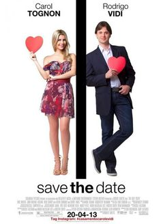 Are you ready for your close up? A mock movie poster is perfect for couples who are ready to step into the spotlight! #SaveTheDateIdeas