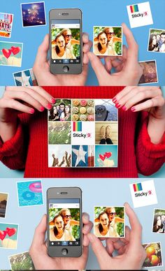 These cute magnets can be made with photos from your Instagram, camera-roll or desktop.