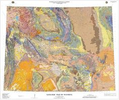 DDS News- Wyoming State Geological Survey Releases Geologic Map of the State