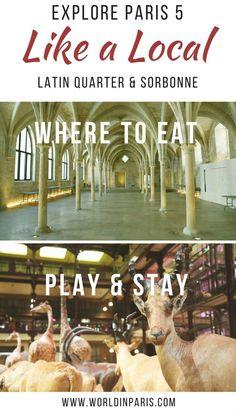 Paris 5 Like a Local, Latin Quarter and Sorbonne, Paris Districts, Lutetia, 5th Arrondissement of Paris, Paris Travel Inspiration, Paris Bucket List, Paris City Guides, Paris Arrondissement Guide #parislikealocal #parisianer #paris