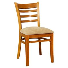 Safsil Seating Ladder Slat Dining Chair - Set of 2 - 005S-