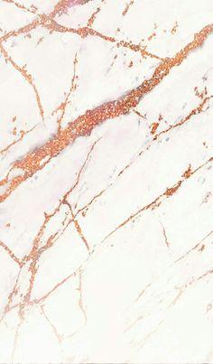 IPhone White rose gold marble Wallpaper/ Fond d'écran blanc marbré rose gold
