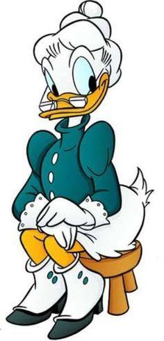 Grandma Duck.