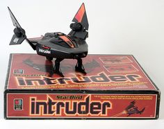 Star Bird Intruder electronic spaceship with packaging 1960s Toys, Retro Toys, Vintage Toys, Vintage Space, Childhood Toys, Childhood Memories, Electronic Battleship, Space Toys, Toy R