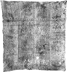 French web page about the Tristan quilt, with nice photos of the panels.