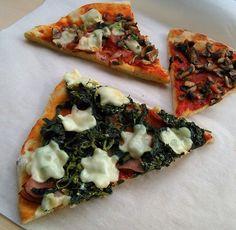 CVRČEK NA TALÍŘI: JOGURTOVÁ PIZZA Vegetable Pizza, Vegetables, Food, Hampers, Meal, Eten, Vegetable Recipes, Meals, Vegetarian Pizza