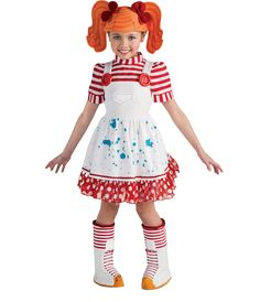 lalaloopsy alyson hannigan agricshow nursery girls toddler pumpkin patch scarecrow costume halloween