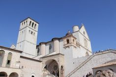 The first day of a four day tour that took us from Rome to Venice. - Truly You Life Coaching  St Francis Basilica in Assisi