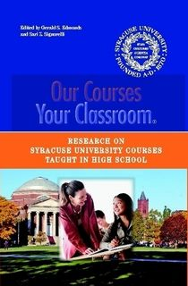 This book is a retrospective of research done on Syracuse University Project Advance® (SUPA) since its inception in 1973. SUPA is a concurrent enrollment program that provides high school students with the opportunity to enroll in college courses for credit. Students take SU classes in their own high school and can transfer credits earned into the colleges where they later matriculate. Through its ongoing research exemplified in this book, SUPA continues to develop and maintain the highest…