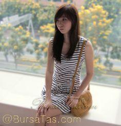 Mini Sling Bag Korea Style Yellow @ BursaTas.com